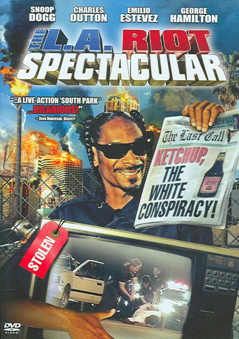LA RIOT SPECTACULAR BY HAMILTON,GEORGE (DVD)