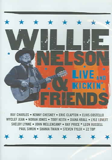 WILLIE NELSON AND FRIENDS:LIVE & KICK BY NELSON,WILLIE (DVD)